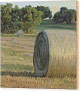 August Bales Wood Print