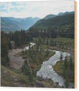August in Colorado Wood Print