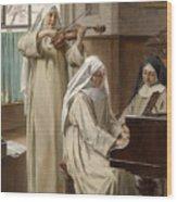 August Wilhelm Roesler Wood Print