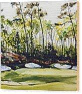 Augusta 2 Wood Print