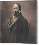 Auguste Vacquerie Wood Print