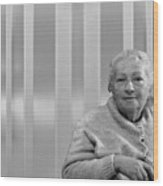 Aunt Hanneh Wood Print