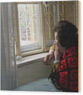 Aunt Leila - Watching Over The Neigbourhood Wood Print