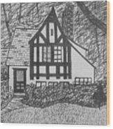 Aunt Vizy's House Wood Print