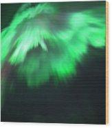 Aurora Angel Wood Print
