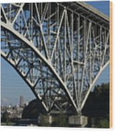 Aurora Bridge - Seattle Wood Print
