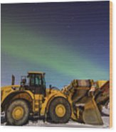 Aurora Machines Wood Print
