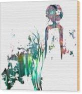 Aurora Mist Wood Print