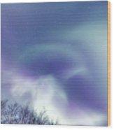 Aurora Skies Wood Print