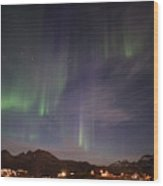 Aurora Tasiilaq And Dipper Greenland 7890 Wood Print
