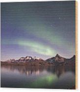 Aurora Tasiilaq Greenland 7279 Wood Print