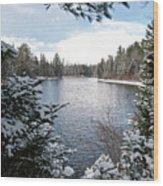 Ausable River 4820 Wood Print