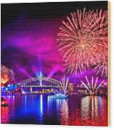Aussie Celebrations Wood Print