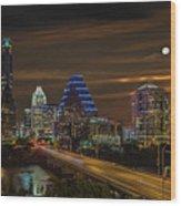 Austin, Texas Wood Print