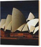 Australia 101 Wood Print