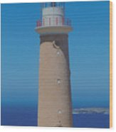 Australia Cape Du  Coedic Light Wood Print