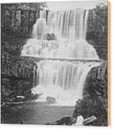 Australia: Waterfall Wood Print