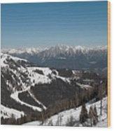 Austria Wood Print