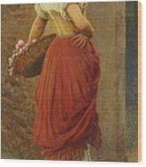 Austrian A Stolen Glance Wood Print