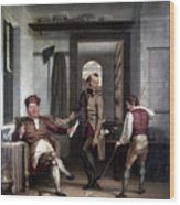 Author & Bookseller, 1811 Wood Print
