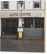 Auto Centre Wood Print
