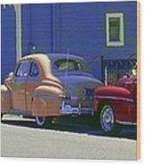 Auto Oldies Wood Print