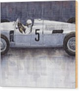 Auto Union 1936 Type C Wood Print