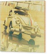Automotive Memorabilia Wood Print