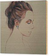 Autoportrait Maja Sokolowska Wood Print