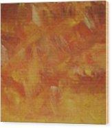 Autum Turmoil Wood Print