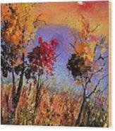 Autumn 451110 Wood Print