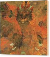 Autumn Abstract 103101 Wood Print