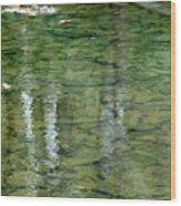 Autumn Abstract - 2 Wood Print