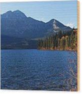 Autumn Afternoon On Pyramid Lake Wood Print