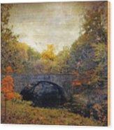 Autumn Ambiance Wood Print