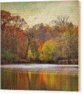 Autumn Arises 2 Wood Print
