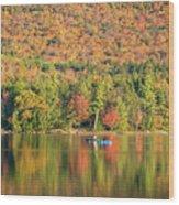 Autumn At North Lake Wood Print