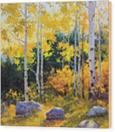 Autumn Beauty Of Sangre De Cristo Mountain Wood Print by Gary Kim