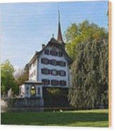 Castle In September Wood Print