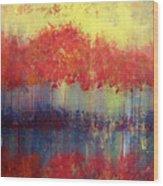 Autumn Bleed Wood Print