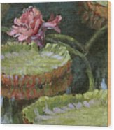 Autumn Blossom Wood Print