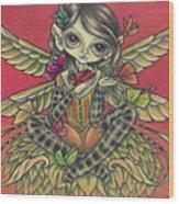 Autumn Butterflies Wood Print