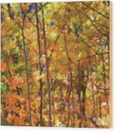 Autumn Colored Wood Print