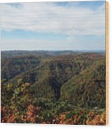 Autumn Comes To The Mountains 3 Wood Print