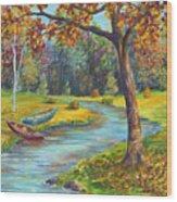 Autumn Daze Splendor  Wood Print