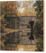 Autumn Echo Wood Print