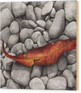 Autumn Epilogue Wood Print