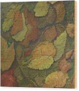 Autumn Falling Wood Print