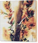 Autumn Gul Wood Print