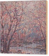 Autumn Harmony. Wood Print